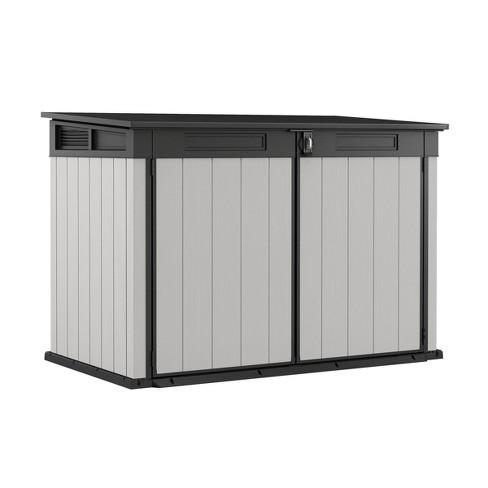 Premier Jumbo Outdoor Storage Shed Gray - Keter : Targ