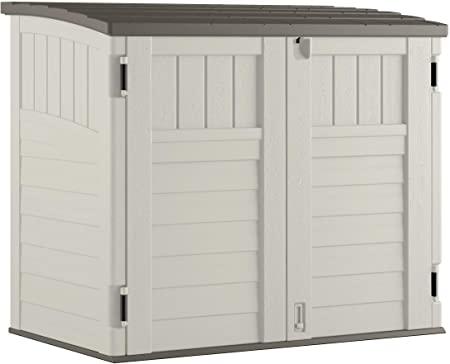 Amazon.com : Suncast Horizontal Outdoor Storage Shed for Backyards .