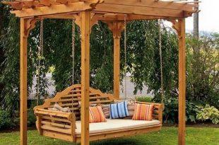 Adult swing set … | Outdoor pergola, Backyard pergola, Pergola pat
