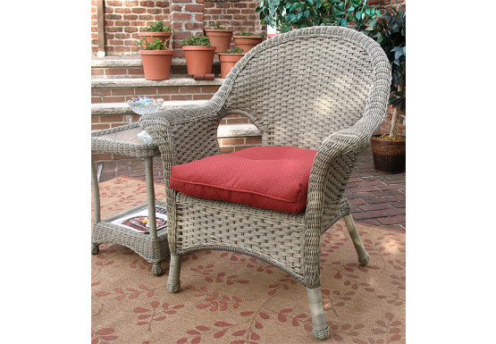 Veranda High Back Resin Wicker Cha