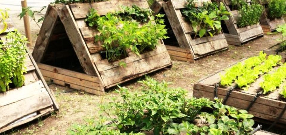 60 Amazing Creative Wood Pallet Garden Project Ideas - Rockinde