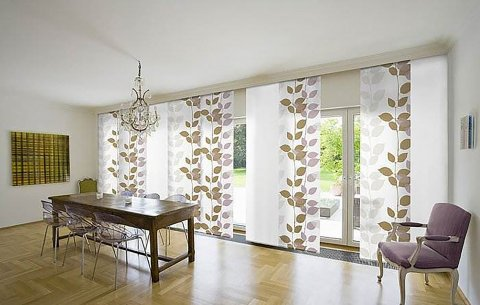 Sliding panel blinds - Caribbean Window Coveri