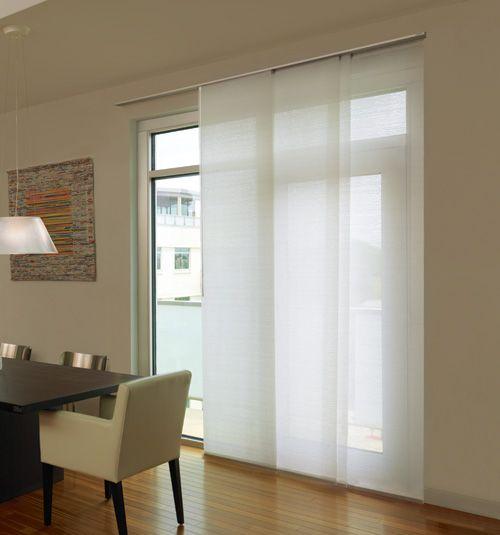 Levolor® Panel Track Blind: Designer Textures Light Filtering .