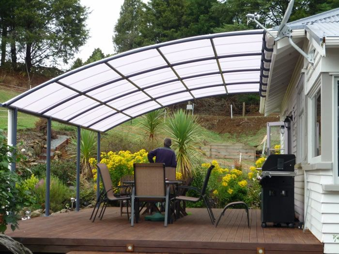 Shade Sails, Verandah Curtains and other outdoor canvas covers .