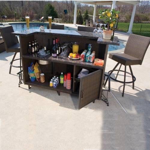 Outdoor Bar Sets Clearance i 2020 | Udendørsmøbler, Spisestue .