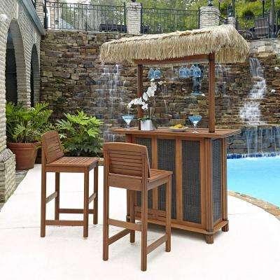 Bar Height - Eucalyptus - Patio Bar Sets - Outdoor Bar Furniture .