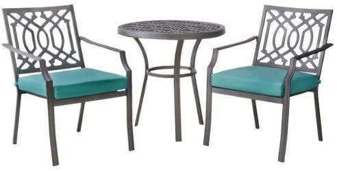 Amazon.com: Patio Furniture Bistro Set - Threshold Harper 3-Piece .