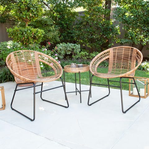Buy Iron Outdoor Bistro Sets Online at Overstock | Our Best Patio .