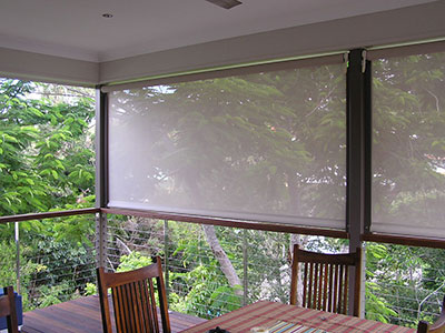 Outdoor Blinds — PERF-FORM Security Scree