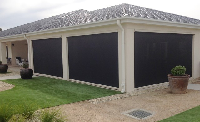 Outdoor Patio Blinds - Modern - Patio - Melbourne - by Taylor and .