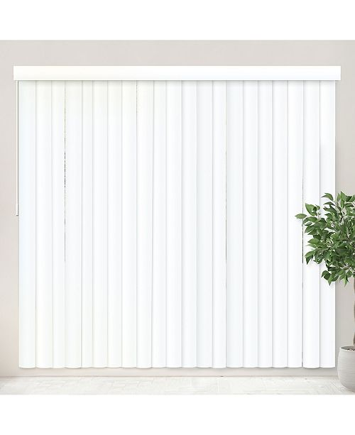 "Chicology Vertical Blinds, Patio Door or Large Window Shade, 78"" W ."