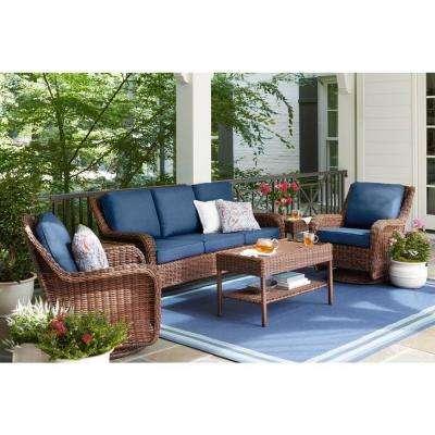 Polyurethane (40%) - Patio Conversation Sets - Outdoor Lounge .