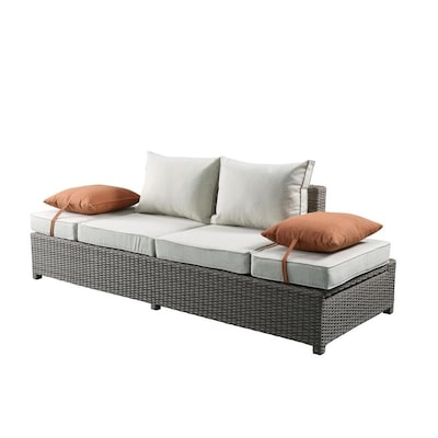 ACME Furniture Salena 2 Piece Patio Sofa and Ottoman Set at Lowes.c