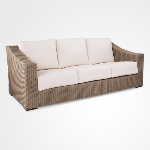 Edgewood Wicker Patio Sofa - Smith & Hawken™ : Targ