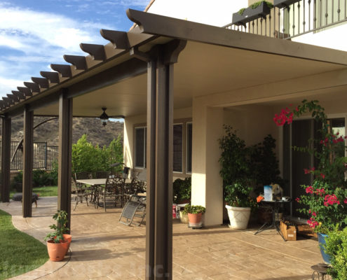 What to expect from your add-on patio cover during the rainy .