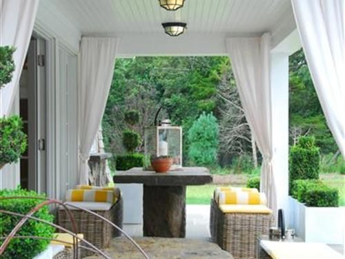patio cover with outdoor curtains | Outdoor curtains for patio .