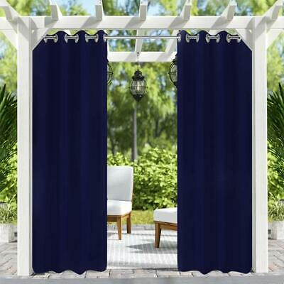 """8 Pack 50""""x84"""" Privacy Outdoor/Indoor Patio Curtains Panel for ."""
