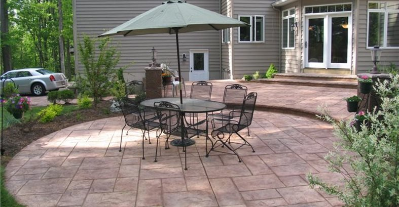 Patio Designs - (Placement and Layout Plans) - The Concrete Netwo