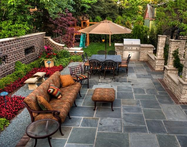Backyard Landscaping Ideas-Patio Design Ideas Homesthetics (31 .