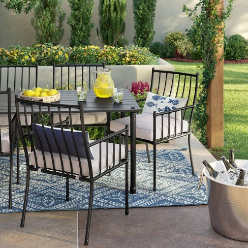 Fernhill 7pc Patio Dining Set - White - Threshold™ : Targ