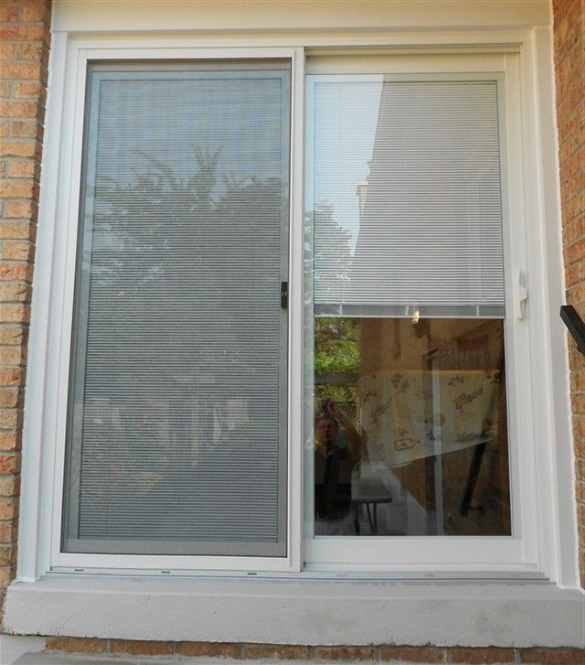 Sliding Patio Doors With Built In Blinds | Sliding door blinds .