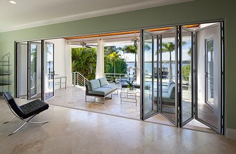 Folding Glass Patio Doors | NanaWa