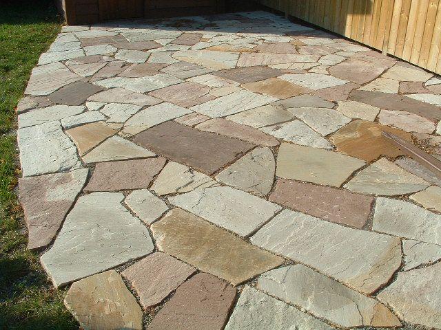 7 Ways to Floor a Patio - Outdoor Flooring Ideas | Flat stone .