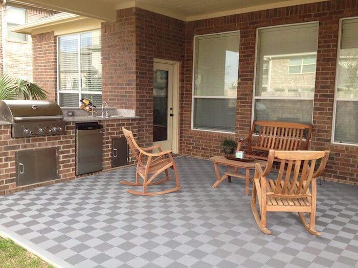 Perforated Interlocking Patio Tiles - Outdoor - Made in USA | ModuTi