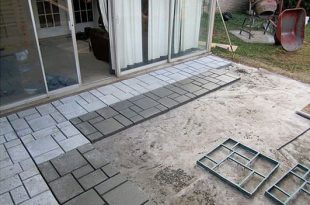 9 DIY Cool & Creative Patio Flooring Ideas   Patio flooring .