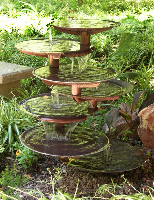 Outdoor Patio Fountains (With images) | Garden fountains, Water .