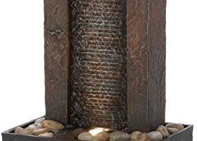 Amazon.com : Tabletop Fountain, Polyresin Zen Water Patio .