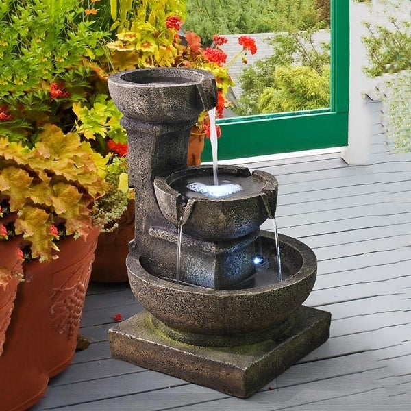 Shop Relaxing Soothing Outdoor Waterfall Fountains for The Garden .