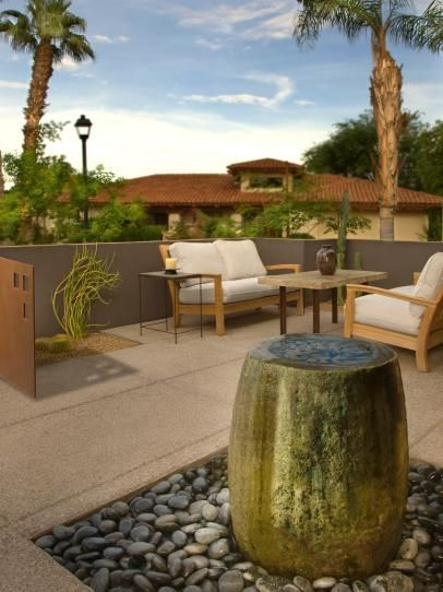15 Patio Fountains That Ooze Tranquility | outdoor living | Water .