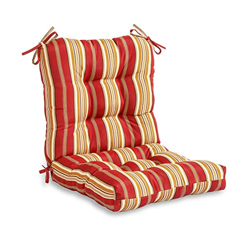 Amazon.com: Greendale Home Fashions Outdoor Seat/Back Chair .