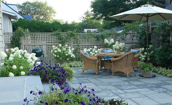 15 Patio Gardens for Outdoor Recreation | Home Design Lov