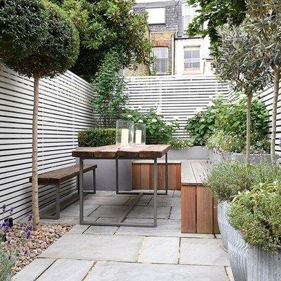 Garden patio and decking ideas | Small courtyard gardens, Garden .