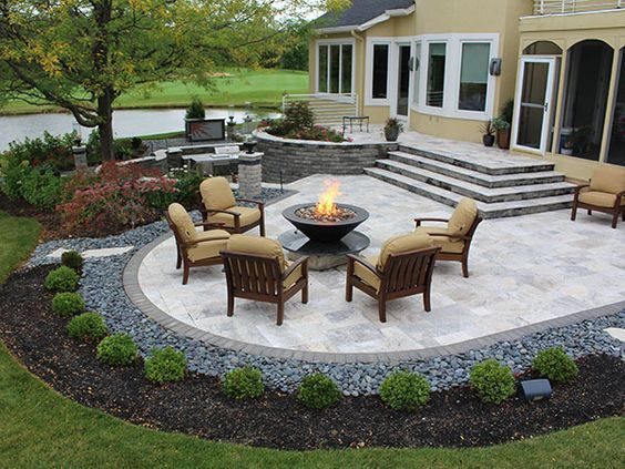 15 Luxury and Classy Mediterranean Patio Designs | Patio, Backyard .
