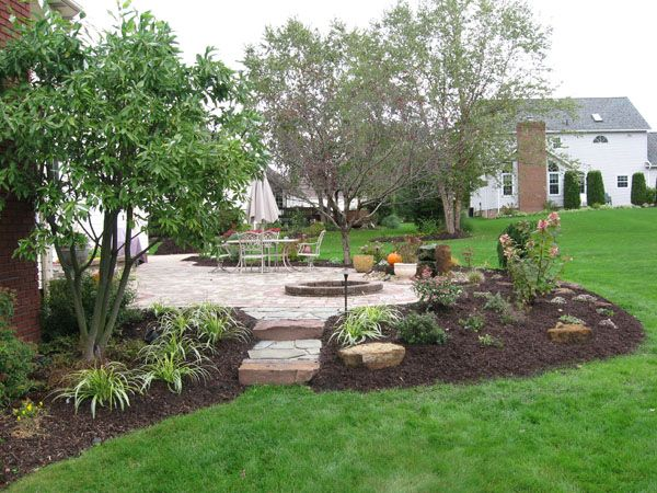 patio landscaping | Klein's Lawn & Landscaping | Landscapes .