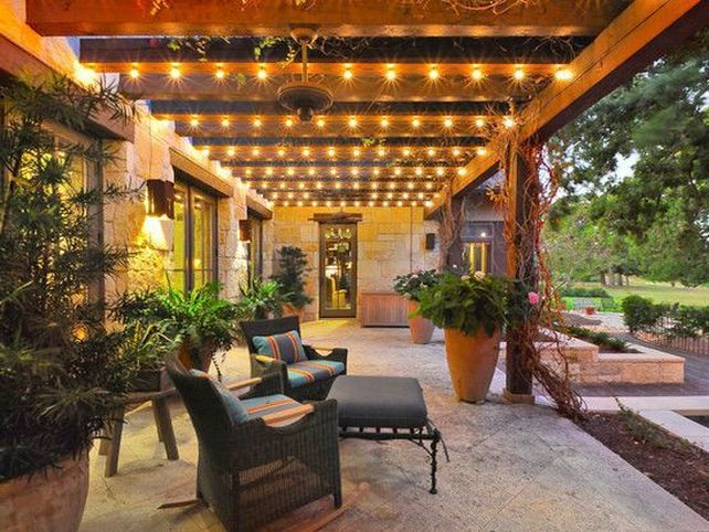 Wonderful Outdoor Covered Patio Lighting Ideas Patio Cover .