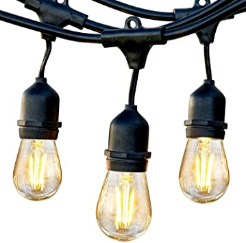 Brightech Ambience Pro - Waterproof LED Outdoor String Lights .