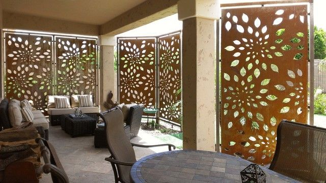 Contemporary Outdoor Patio Privacy Screens Ideas - Parchitectural .