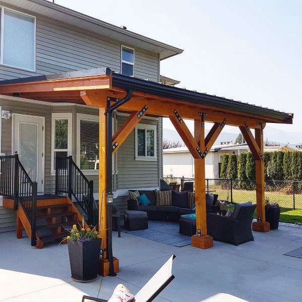 Top 60 Patio Roof Ideas - Covered Shelter Desig