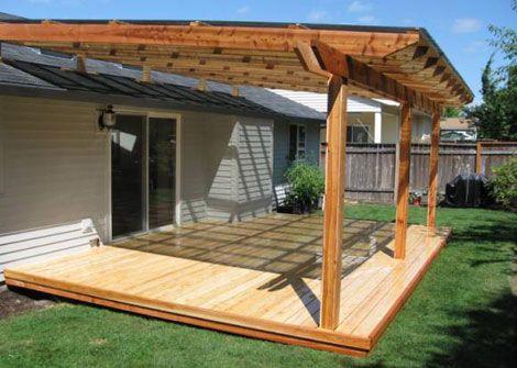 DIY Patio Cover Designs Plans . We Bring Ideas | Diy patio .