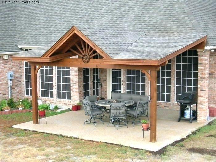 Attractive Best Backyard Porch Back Porch Roof Ideas Patio Cover .