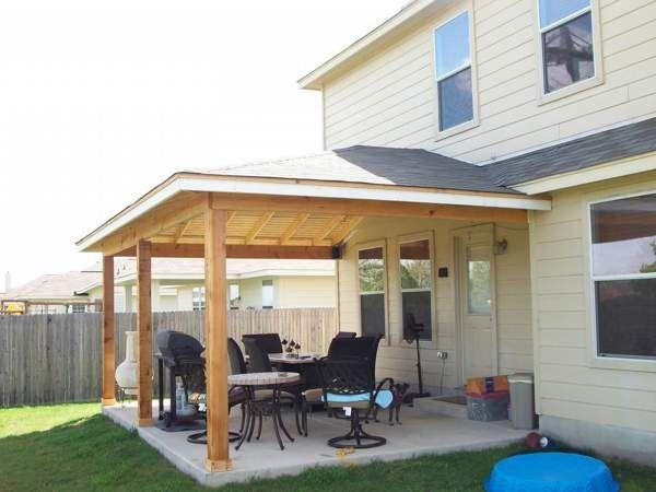 Hip Roof Patio Design Ideas | Patio roof, Patio, Roof desi
