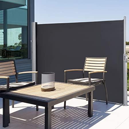 Amazon.com : Tangkula Outdoor Patio Retractable Folding Side .