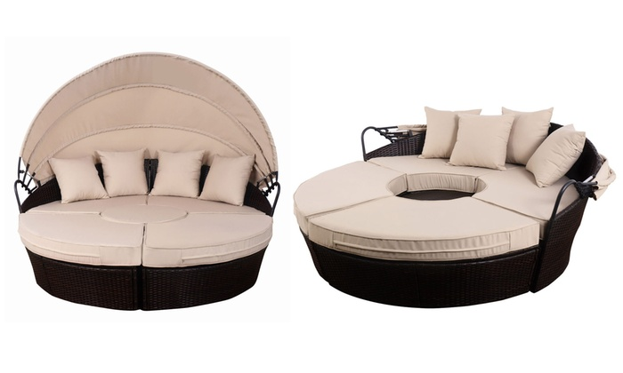 Up To 59% Off on Costway Patio Sofa | Groupon Goo