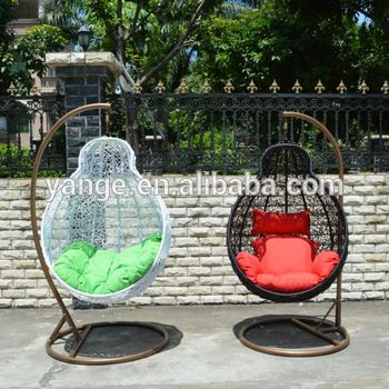 Rattan Indoor Outdoor Hanging Chair Canopy Patio Swing - Buy .