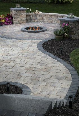 Patio Paver Patterns & Design: Trends in Paver Laying Patterns .