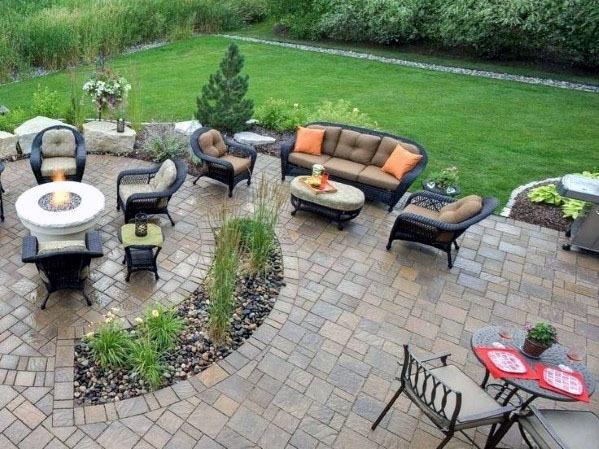 Top 60 Best Paver Patio Ideas - Backyard Dreamscape Desig
